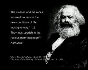 Karl Marx revolution of hatred