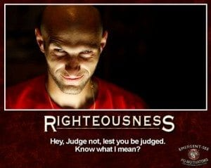 Judge not most misused verse today
