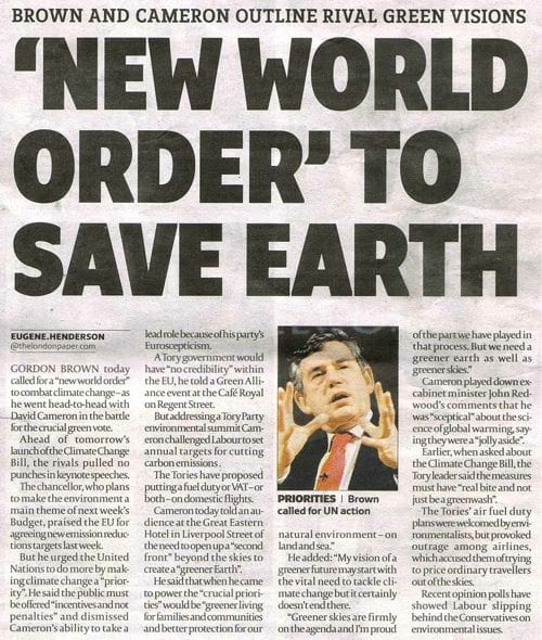 NWO, News, Save, Earth,