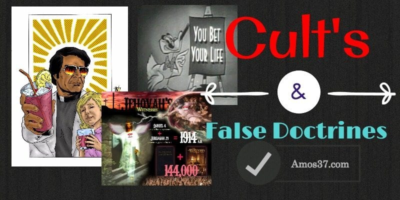 Counterfeit Religions and the rise of cults