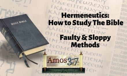 Understanding Error & Hermeneutics Session 06