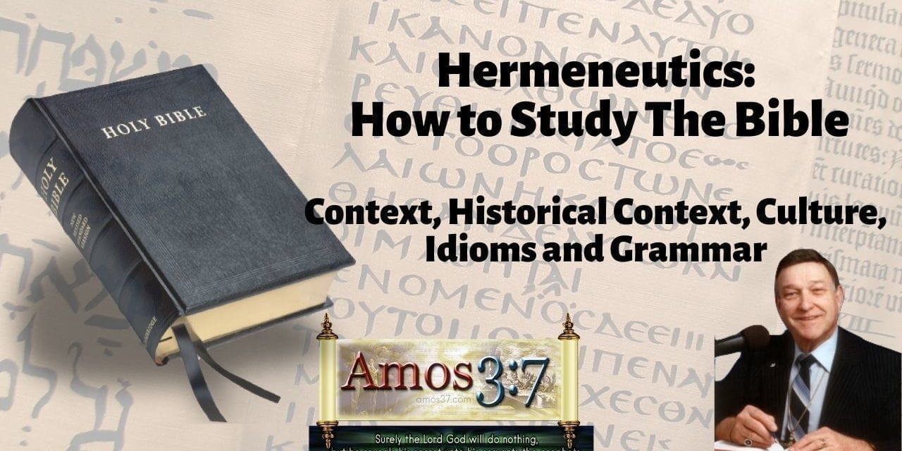 Understanding Error & Hermeneutics Session 01