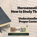 Understanding Error & Hermeneutics Session 04