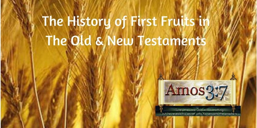 Jesus our first fruits,history,first fruits,Haman,Easter,holy days,