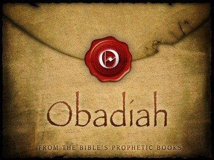 Obadiah Audio Commentary