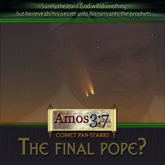 Comet Pan-Starrs – The Final Pope?