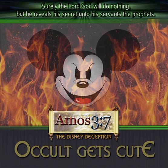The Disney Deception Occult Gets Cute