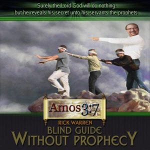 Rick Warren, Prophecy, none of your business,