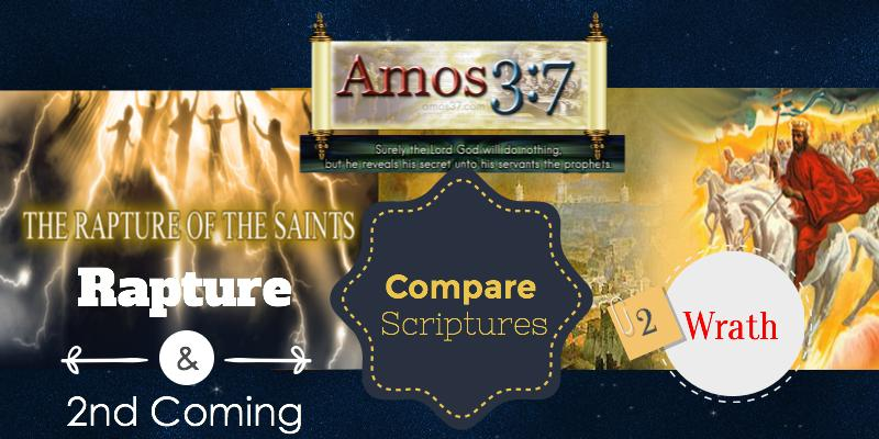 Rapture, Second Coming, Compared, Scripture, references, listed,