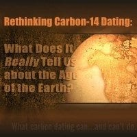 Evolution Carbon 14 dating Young Earth?