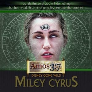 Miley Cyrus, Disney, Occult,