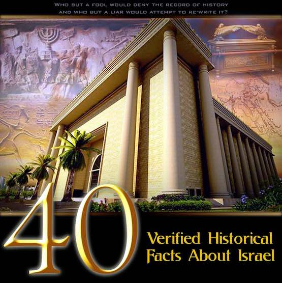 4000 Years of Verified Facts about Israel