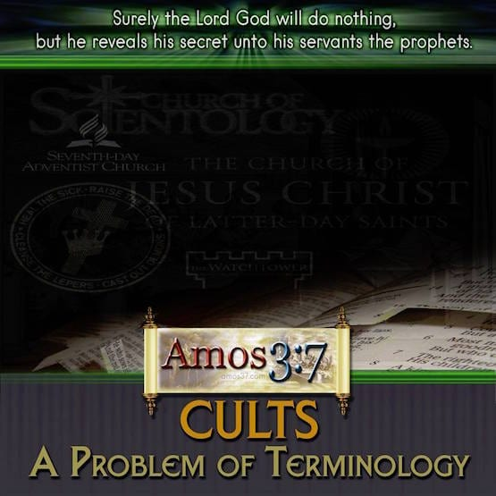 What is the word Cult?