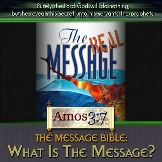 The Message Bible, New Age, review, occult,
