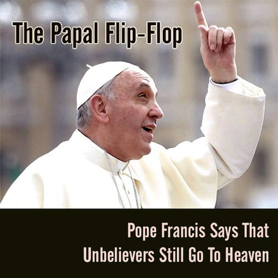 Tell Catholics the truth, pope,