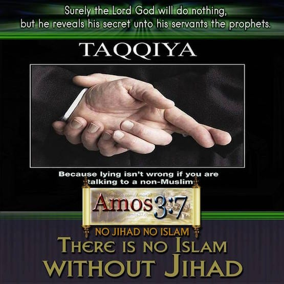 Taqqiya, Lying, Islamic, doctrine, teaching, deceivers, Jihad,