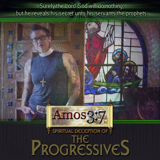 Spiritual Deception of The Progressives