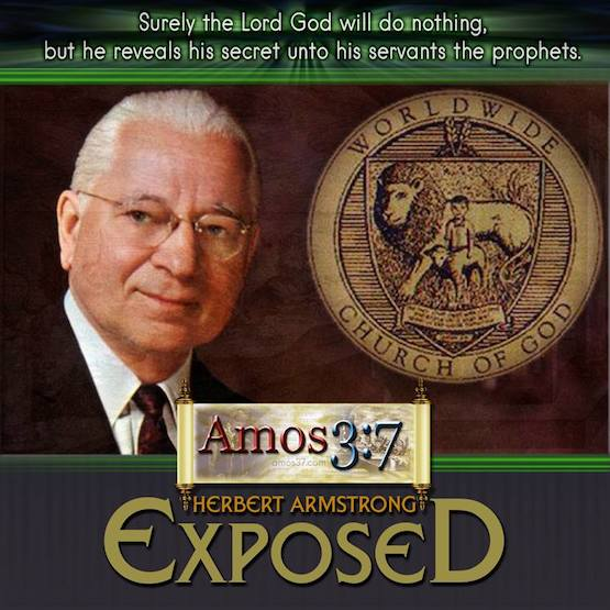 Herbert Armstrong, Ted Armstrong, false prophets, failed prophecies,