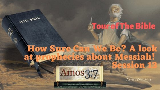 Old Testament look at prophecies about Messiah Bible Study