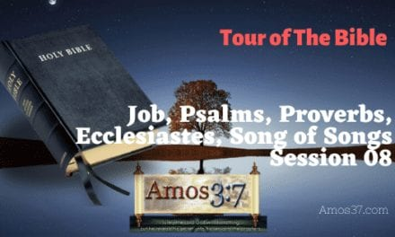 Bible Study on Job, Psalms, Proverbs, Ecclesiastes, Song of Songs