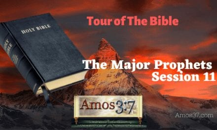 The Major Prophets Bible Study Overview