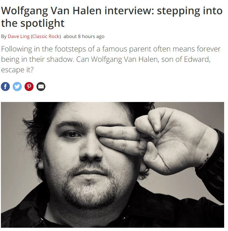 2021 07 01 08 52 07 Wolfgang Van Halen Mammoth WVH interview Louder Symbolic Pics of the Month 07/21