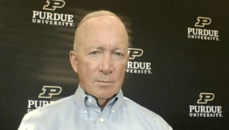 Purdue University President Daniels says Unvaccinated Students Will Need to Make Their Own Arrangements to Stay Out of Class