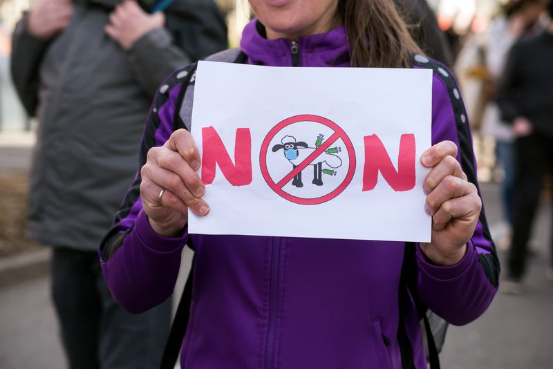 Thousands Gathered at 'Freedom Rally' in New York City to Oppose Vaccine Passport