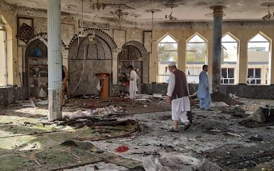 Dozens killed in blast targeting Shiite Afghan mosque during Friday prayers