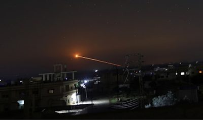 Syria claims Israel carried out air strikes